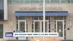 Two officers, student hospitalized after incident at Burgard High School [Video]