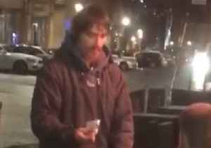 Kind Stranger Gives Beggar His Bank Card, Tells Him to Withdraw £20 [Video]