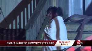 'It was complete black,' resident who escaped flames says [Video]