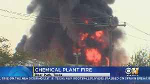 Petrochemical Plant Fire Near Houston Will Burn For Days [Video]
