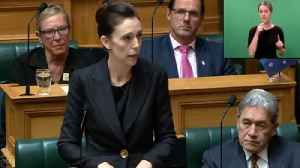 News video: Jacinda Ardern Says She'll Never Use Accused Mosque Gunman's Name To Deny Him Notoriety