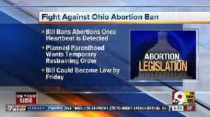 Heartbeat abortion bill case in federal court today [Video]