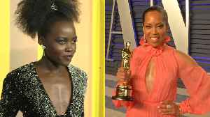Lupita Nyong'o inspired by Regina King's push for equality on screen [Video]