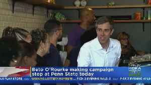 Democratic Presidential Candidate Beto O'Rourke To Make Primary Stop In Pa. [Video]