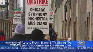 Actors To Picket Today With Chicago Symphony Orchestra [Video]