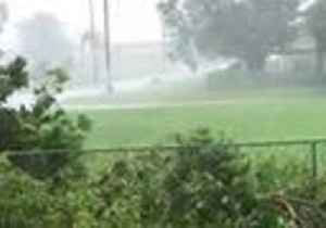 Wheelie Bin Flies Across Field as Cyclone Trevor Hits Queensland Coast [Video]