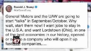 Trump calls GM's CEO in push to reopen Ohio auto plant [Video]