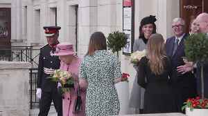 Right Now: Kate Middleton and Queen Elizabeth Mark Their First Joint Appearance in Seven Years [Video]
