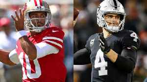 Oakland Raiders vs. San Francisco 49ers: Who will have a better 2019 season? [Video]