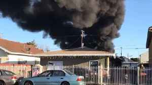 Dozens Displaced, 2 Injured After Tanker Explosion in South LA Neighborhood [Video]