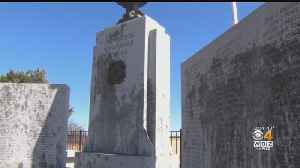 Efforts To Clean Vandalized WWII Memorial Continue [Video]