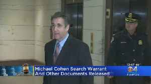 Michael Cohen Documents Released [Video]