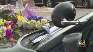 State Trooper Daniel Groves' Cruiser Decorated With Flowers [Video]