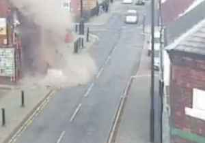 Gas Explosion Rocks Staffordshire Store [Video]