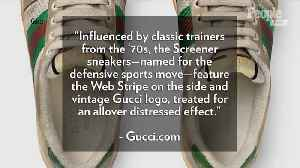Gucci Is Selling $870 Sneakers That Purposely Look Filthy [Video]