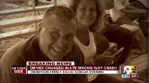 Driver faces charges in crash that killed 3 [Video]