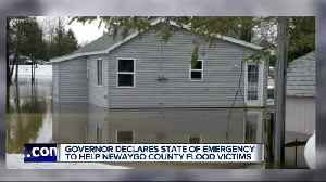 Governor declares state of emergency to help Newaygo County flood victims