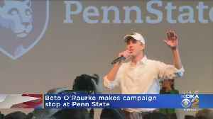 Beto O'Rourke Makes Presidential Primary Visit To Penn State [Video]