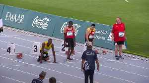 Usain Bolt congratulates Jamaica's Kirk Wint after Special Olympics 50m dash glory [Video]