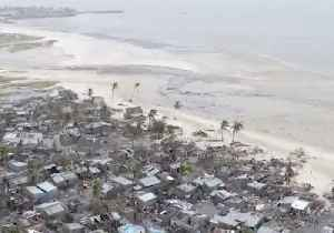 Drone Footage Shows Mozambique Neighborhood Devastated by Cyclone Idai [Video]