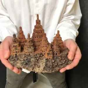 Portland artist makes pop-up castles out of wood [Video]