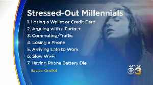1 In 3 Millennials Believe Their Life Is More Stressful Than Average Person, Survey Finds [Video]