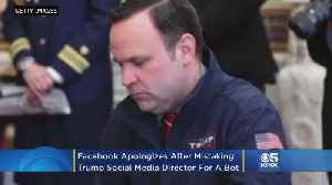 Facebook Apologizes After Mistaking Trump Social Media Director Dan Scavino For Bot [Video]