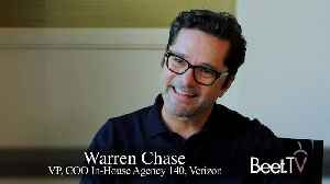 In-House Agencies No Longer A Destination For Out-To-Pasture Creatives: Verizon's Chase [Video]