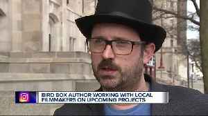 News video: Bird Box author working with local filmmakers on upcoming projects