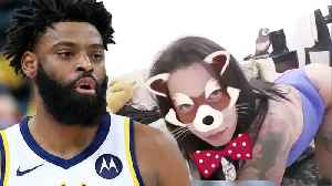 Tyreke Evans Caught Liking Sexual Posts On Twitter DURING Game! [Video]