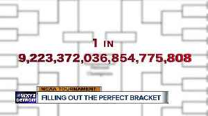 News video: Odds of filling out the perfect bracket