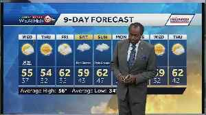 Temps in the mid-50s for first day of spring Wednesday [Video]