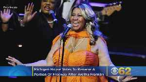 News video: Michigan House Votes To Rename Portion Of Freeway After Aretha Franklin