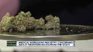 Medical marijuana industry concerned about proposed rules form the state [Video]