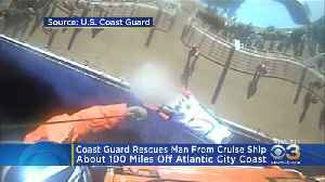 Coast Guard Rescues Man From Cruise Ship Off Atlantic City Coast [Video]