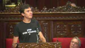 David Hogg Talks Gun Reform In Minneapolis [Video]