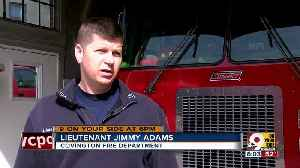 Firefighter recalls quick reaction to save child [Video]