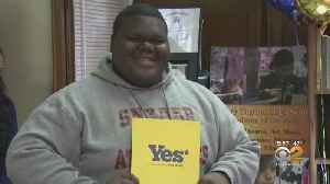 NJ Teen Accepted To 18 Colleges [Video]