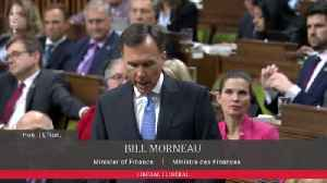 Tories Storm Out Of House Of Commons During Morneau's Budget Speech [Video]