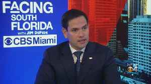 News video: Regarding Everglades Funding, Florida Senator Marco Rubio Believes President Trump Hasn't Betrayed Florida