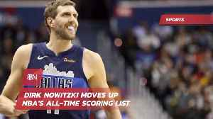 Dirk Nowitzki Is Now One Of The Top NBA Scorers [Video]