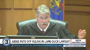 Judge puts off ruling in lawsuit that challenges lame-duck laws limiting powers of Evers, Kaul [Video]