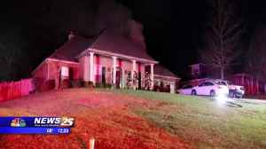 Family is safe after house fire in Harrison County [Video]