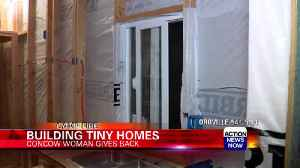 Tour of tiny homes being built for Camp Fire evacuees [Video]