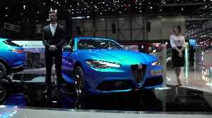 Alfa Romeo Stand at Geneva 2019 [Video]