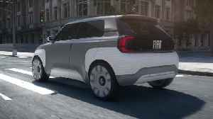 Fiat Concept Centoventi Driving Video and charger [Video]