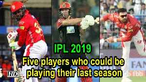IPL 2019 | 5 players who could be playing their last season [Video]