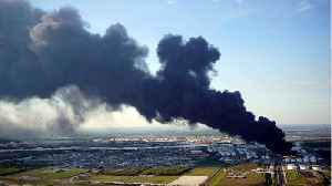 The Texas Petrochemical Fire's Continuous Burn [Video]