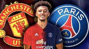 Manchester United & PSG Battle For £100M Jadon Sancho Transfer! | #TransferTalk [Video]