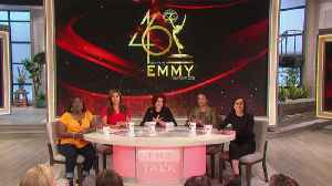 The Talk - Exclusive - The Talk Hosts Announce the Daytime Emmy Nominations Part 1 [Video]